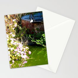 Water Barrel Stationery Cards