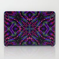 frames iPad Cases featuring GeoNight Frames by Webgrrl