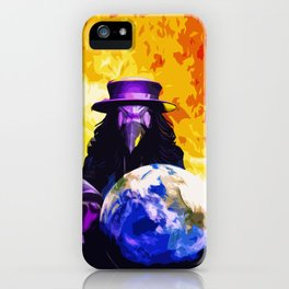 Ominous Earth iPhone Case