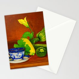 Teacup with Squash Stationery Cards