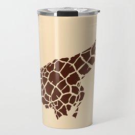The Savanna Series 001: Giraffe Travel Mug