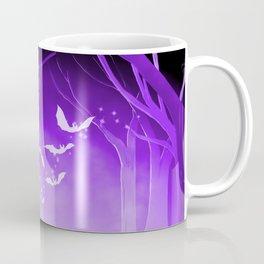 Dark Forest at Dawn in Amethyst Coffee Mug