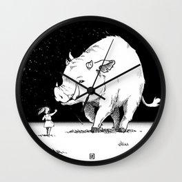 Edge of the universe: Warthog Wall Clock