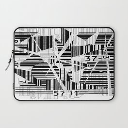 barcode cut Laptop Sleeve