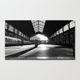 Last Train Home Canvas Print