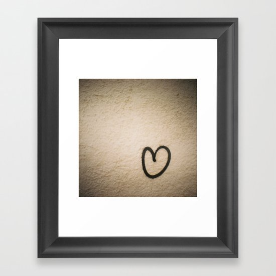 loving you Framed Art Print