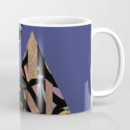 Pyramids on Sapphire Coffee Mug