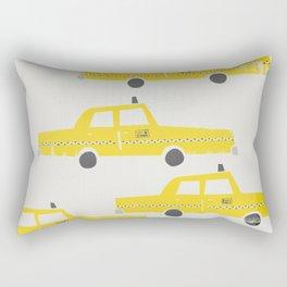 New York Taxicab Rectangular Pillow