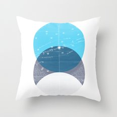 Eclipse IV Throw Pillow