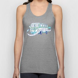 Let's Go Have Adventures My Love Unisex Tank Top