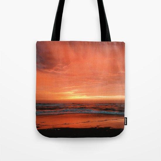 Ocean Waves #sunset Tote Bag