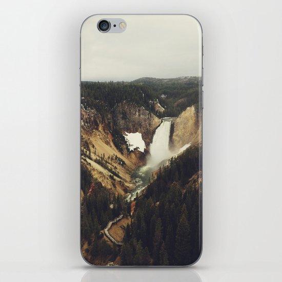 Yellowstone Falls iPhone & iPod Skin