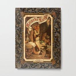 Reineke Fuchs (Reynard Fox) Metal Print