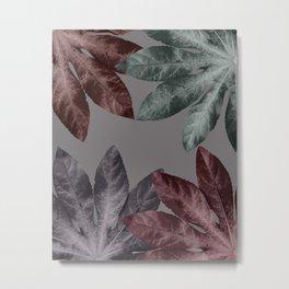 Vintage Leaf Design 3 Metal Print