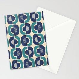 Retro Mid Century Modern Pattern 337 Stationery Cards
