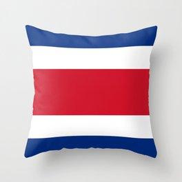 Flag of Costa rica -Costa rican, tico,San José ,Puerto Limón ,Alajuela, heredia. Throw Pillow