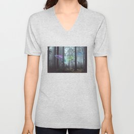 Whale Music in the Forest Unisex V-Neck