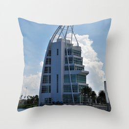 Exploration Tower Throw Pillow