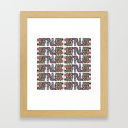 INFP Pattern 2 Framed Art Print