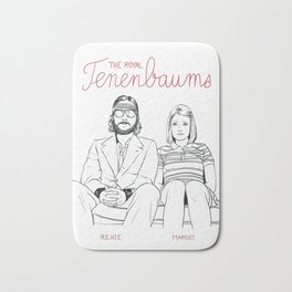 The Royal Tenenbaums (Richie and Margot) Bath Mat