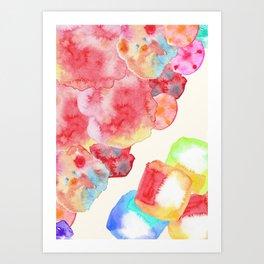 Candy dreams Art Print