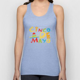Cinco De Mayo - May 5th Mexican Pride Sombrero Unisex Tank Top