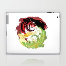 The Wolf and the Halla Laptop & iPad Skin