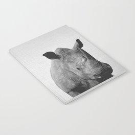 Rhino - Black & White Notebook