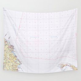 MA Provincetown 353180 1984 topographic map Wall Tapestry