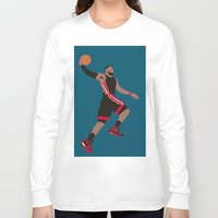 lebron Long Sleeve T-shirts featuring Lebron by rusto