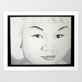 Etta James Art Print