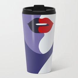Stewardess Pop Art Travel Mug