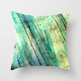 Stained Glass Texture Throw Pillow