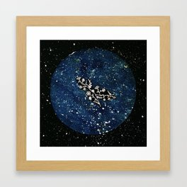 Gemini Constellation Framed Art Print