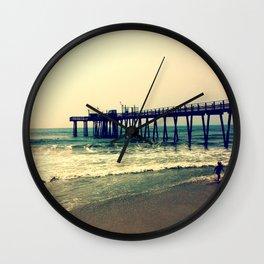 Shore at Dusk Wall Clock