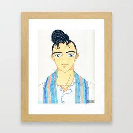 KoolKat Dima Framed Art Print