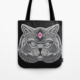 The All Seeing Cat Tote Bag