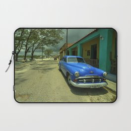 Vintage Plymouth at Cojimar Laptop Sleeve