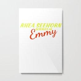 Rhea Seehorn Deserves an Emmy Metal Print