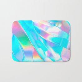 Blue Opal Iridescent  Bath Mat