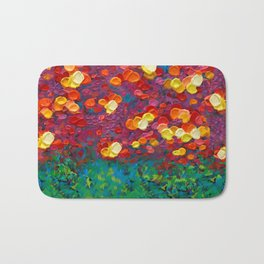Rainbow Bubbles teardrop rain abstract painting iPhone 4 4s 5 5c 6 7, pillow case, mugs and tshirt Bath Mat