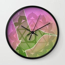 Anahata—Heart Chakra Wall Clock