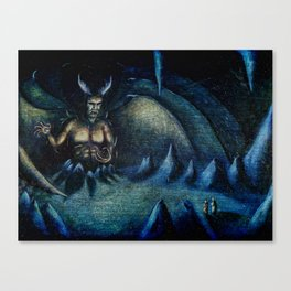 In Hell Canvas Print