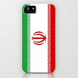 flag of iran- Persia, Iranian,persian, Tehran,Mashhad,Zoroaster. iPhone Case