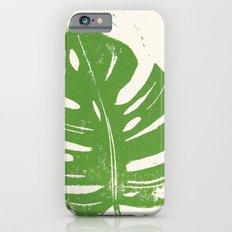 Linocut Leaf iPhone 6s Slim Case