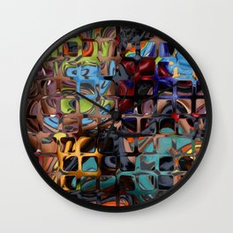 Colorful-42 Wall Clock