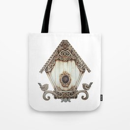 Birdhouse I Tote Bag