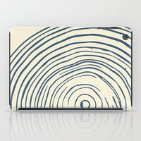 tree rings iPad Cases featuring Tree Rings by Chase