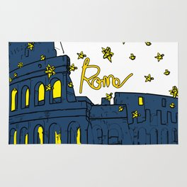 Rome Italy Rug