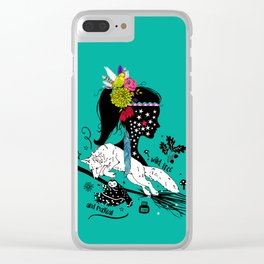 Wild, free and magical Clear iPhone Case
